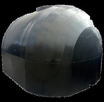 Емкость для перевозки пищевой воды 6000 л КАС двухслойная, крышка с клапаном