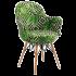 Кресло Tilia Gora-V ножки буковые, сиденье с тканью VOKATO
