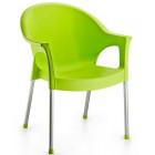 Крісло Irak Plastik Bergama салатовий