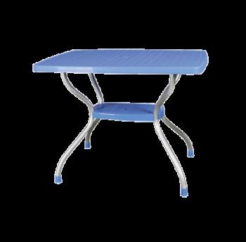 Стіл Irak Plastik Vega 70x100 блакитний