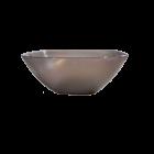 Салатница Кристалл пластиковая 1л прозрачно-коричневая
