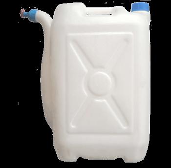 Канистра с носиком 30 л, пластиковая
