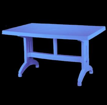 Стол прямоугольный большой голубой 660 грн