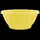 Вазон с подставкой Жанна 12х6 см желтый