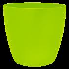 Вазон Матильда 12х11 см салатовый
