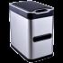 Сенсорное мусорное ведро JAH 7 л прямоугольное серебряный металлик с внутренним ведром