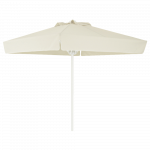 Зонт профессиональный Papatya Ø 2 м круглый бежевый