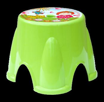 Табурет Irak Plastik Ton Ton №1 зеленый