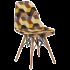 Стул Tilia Eos-V сиденье с тканью, ножки буковые SIESTA 301