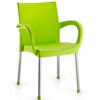 Крісло Irak Plastik Sumela алюмінієві ніжки салатовий