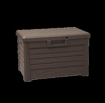 Сундук пластиковый Compact Box Florida 120 л коричневый Toomax