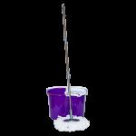 Швабра и ведро с отжимом 20 л (набор) Magic фиолетовый