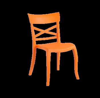 Стул Papatya XSera-S оранжевый