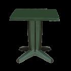 Стіл квадратний Papatya Браво 70x70 зелений