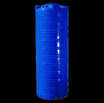 Емкость 1000 л узкая вертикальная двухслойная