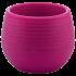 Горщик для квітів Colorful 0,55 л вишневий