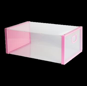 Комод универсальный розовый