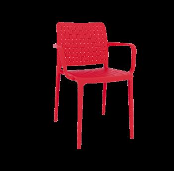 Крісло Papatya Fame-K червоний