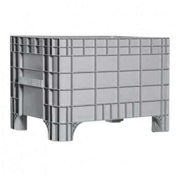 Контейнер Kayalarplastik K 7000 270 л без колес серый