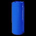 Емкость 500 л узкая вертикальная двухслойная