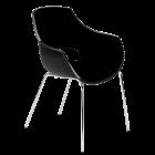 Кресло Papatya Opal черный