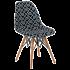 Стул Tilia Eos-V сиденье с тканью, ножки буковые ARTCLASS 805