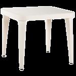Стол Tilia Osaka 90x90 см ножки пластиковые кремовый