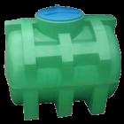 Емкость 750 л горизонтальная двухслойная зеленая