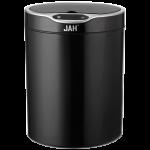 Сенсорное мусорное ведро JAH 12 л круглое черное