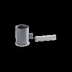 Подключение к водосточной трубе Ø100 мм