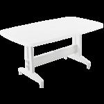 Стол PAPATYA Престиж 88x155 белый