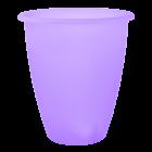 Вазон Лукас 13,5х15 см фиолетовый