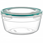 Контейнер Fresh Box круглый 0,8 л прозрачный