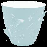 Горшок для цветов 3D 0,7 л светло-голубой
