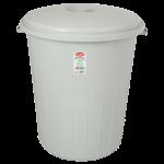 Бак для сміття Planet №4 70 л (без защіпок) сірий