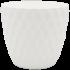 Горщик для квітів Pinecone 0,75 л білий