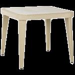 Стол Tilia Osaka 90x90 см ножки пластиковые цвет кофе