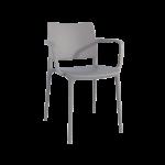 Кресло Papatya Joy-K серо-коричневый