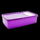 Бокс для морозильной камеры 2,1 л прямоугольный Alaska фиолетовый