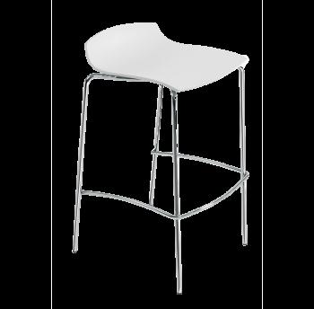 Барный стул Papatya X-Treme BSS белый