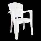 Кресло Irak Plastik Aspendos белое