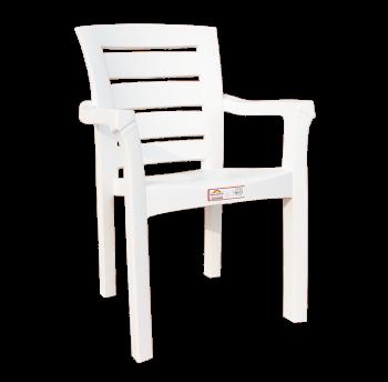Крісло Irak Plastik Didim біле