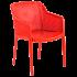 Кресло Tilia Octa красное