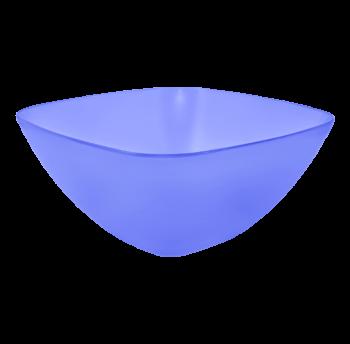 Салатница пластиковая 0,25л прозрачно-фиолетовая