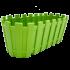 Горщик для квітів балконний Akasya 5,5 л зелений