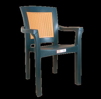 Кресло Irak Plastik Side зеленое