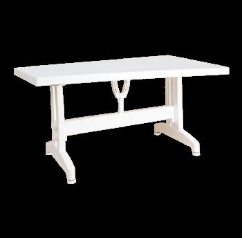 Стіл прямокутний Irak Plastik 80x140 білий