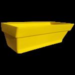 Грядка пластиковая 210 л жёлтая