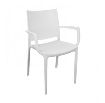 Крісло Irak Plastik Lara білий