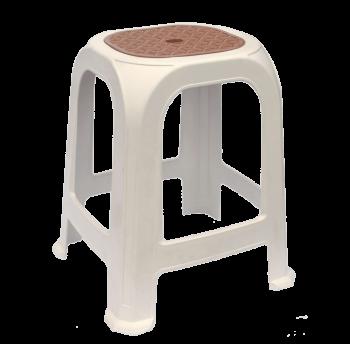 Табурет пластиковый СТ040 белый